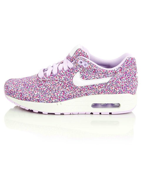 Nike WMNS Air Max 1 Premium Liberty Of London Floral Pepper Print Purple Womens Casual Shoes