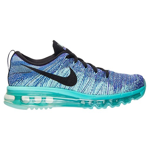 Nike WMNS Flyknit Air Max Multicolor 620659 501 Hyper Grape/Black-Hyper Turquoise Women's Running Shoes