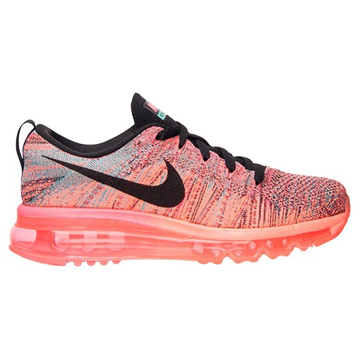 Nike WMNS Flyknit Air Max Multicolor 620659 601 Hyper Punch/Black-Bright  Mango Women's