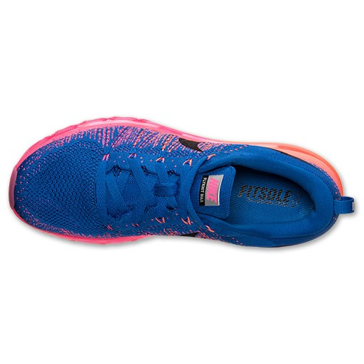 Nike WMNS Flyknit Air Max 620659 400 Gym Red/Black-Hyper Pink-Bright Mango Women's Running Shoes