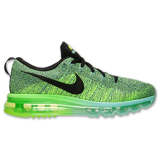 Nike WMNS Flyknit Air Max 620659 300 Hyper Turquoise/Black-Electric Green  Women's Running ...