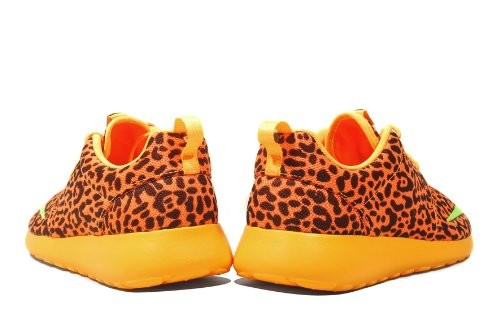 reputable site b6d61 1c15c ... Nike Roshe Run Fb Leopard Orange Mens and Womens Casual Shoes ...