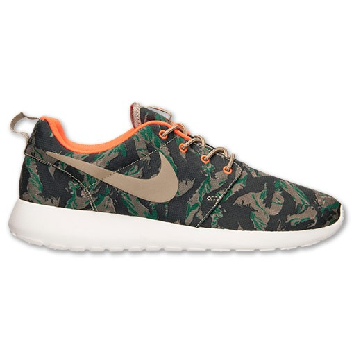 info for d068f 36fdf Nike Roshe Run Print Camo 655206 203 Medium Olive Bamboo Gorge Green Mens  and Womens Casual