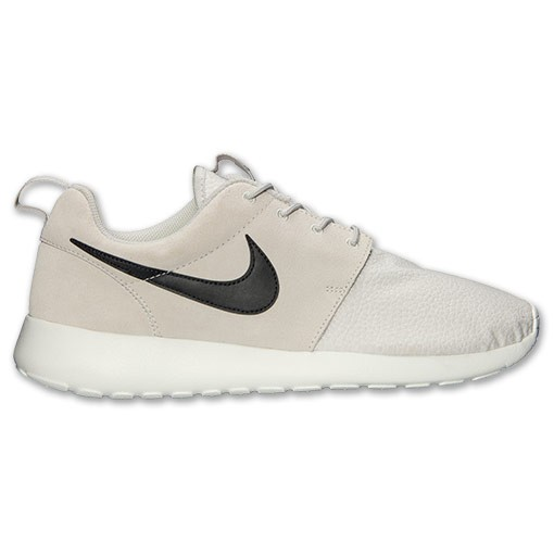 Nike Roshe Run Suede 685280 017 Light Ash Grey Black Summit White Mens and Womens Casual Shoes