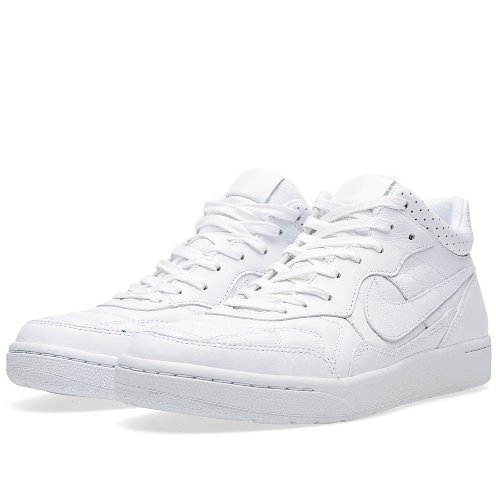 Nike F.C. Real Bristol Nsw Tiempo 94 Mid Sp 645330-110 White Trainers