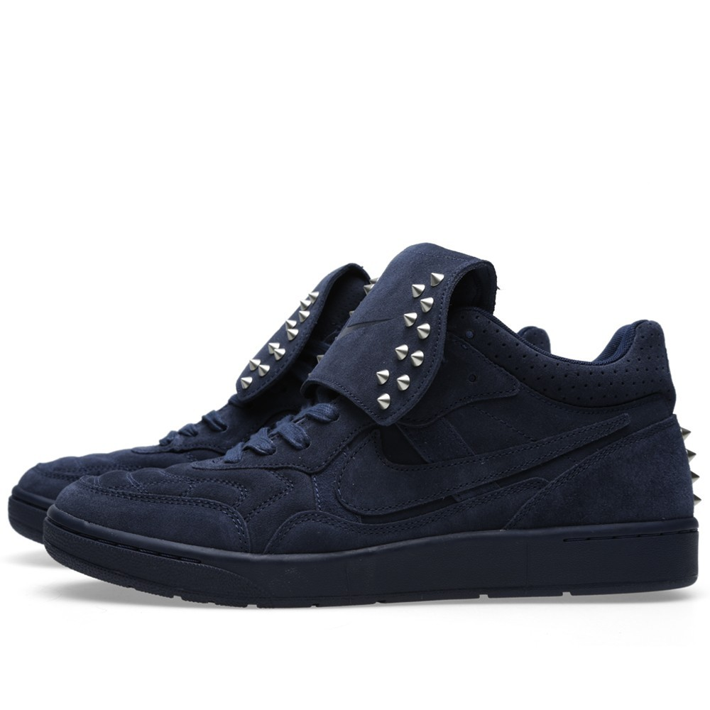 Nike F.C. Real Bristol Nsw Tiempo 94 Mid Sp 645330-440 Obsidian Trainers