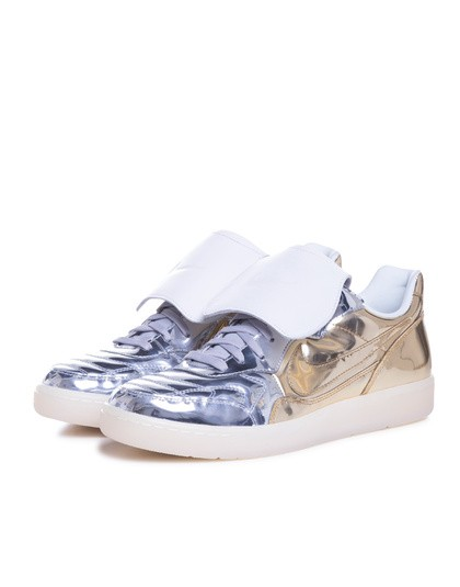 Nike Nsw Tiempo '94 Dlx QS Gold Silver Leisure Soccer Shoes