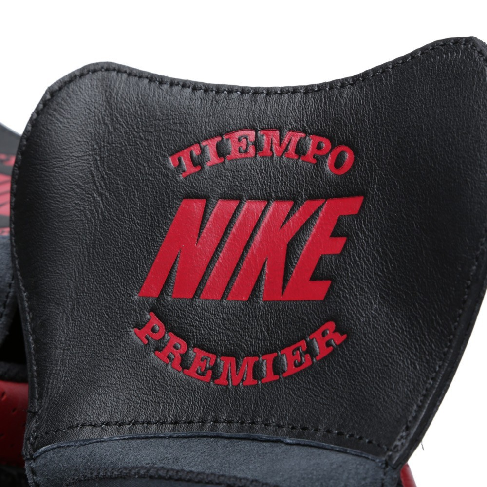 Nike Nsw Tiempo 94 Mid QS Rebel Pack 641147-061 Black Varsity Red Trainers