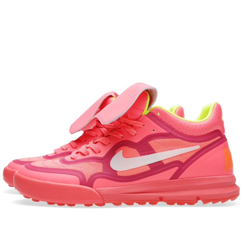 Nike Nsw Tiempo '94 Lunar Mid Tp Qs Mercurial 677457-600 Hyper Punch Ivory Trainers