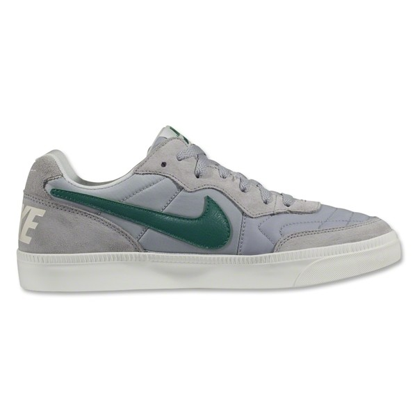 Nike Nsw Tiempo Low Wolf Grey Mystic Green Med Gum Brown Ivory Leisure Soccer Shoes