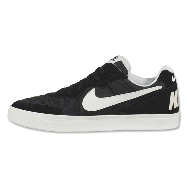 Nike Nsw Tiempo Low Black Med Gum Brown Ivory Leisure Soccer Shoes