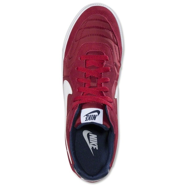 Nike Nsw Tiempo Low Legacy Red Midnight Navy Leisure Soccer Shoes