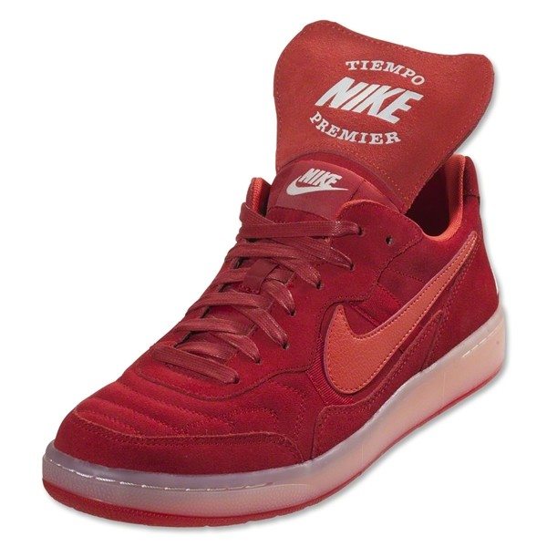 Nike Nsw Tiempo '94 Gym Red Atomic Orange Leisure Soccer Shoes