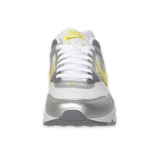 Nike WMNS Air Max Skyline 387413 100 White Voltage Silver Womens Running Shoes