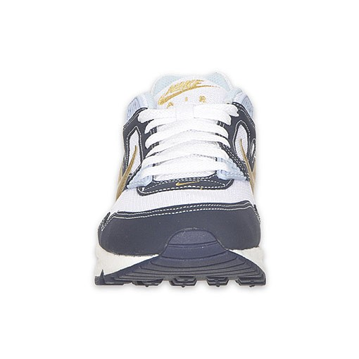 Nike WMNS Air Max Skyline 343904 171 White Gold Navy Womens Running Shoes
