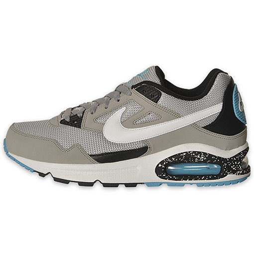 Nike Air Max Skyline Si 343886 013 White Medium Grey Black Blue Mens Running Shoes