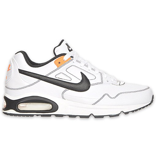 Nike Air Max Skyline Si 343902 102 White Black Total Orange Mens Running Shoes