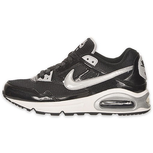 Nike WMNS Air Max Skyline 343904 001 Black Silver White Womens Running Shoes