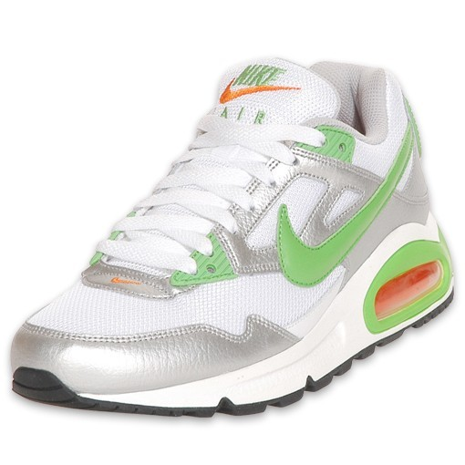 Nike WMNS Air Max Skyline 343904 133 White Mean Green Silver Orange Womens Running Shoes
