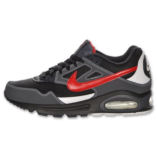 Nike Air Max Skyline Si 343886 061 Black Varsity Red Anthracite White Mens Running Shoes