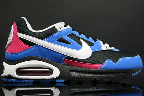 Nike Air Max Skyline Eu 343902 011 Black White Photo Blue Vivid Pink Trainers