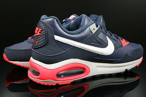 Nike Air Max Skyline Eu 343902 406 Midnight Navy White Obsidian Bright Crimson Trainers