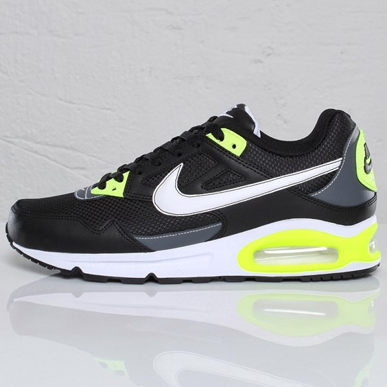 Nike Air Max Skyline 343886-025 Black White Grey Neon Trainers