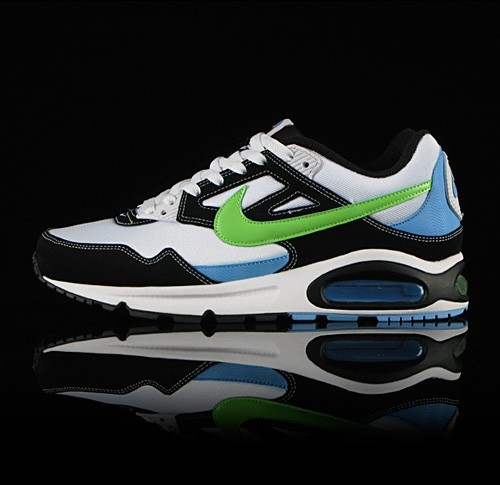 Nike Air Max Skyline Black Blue Green White Trainers