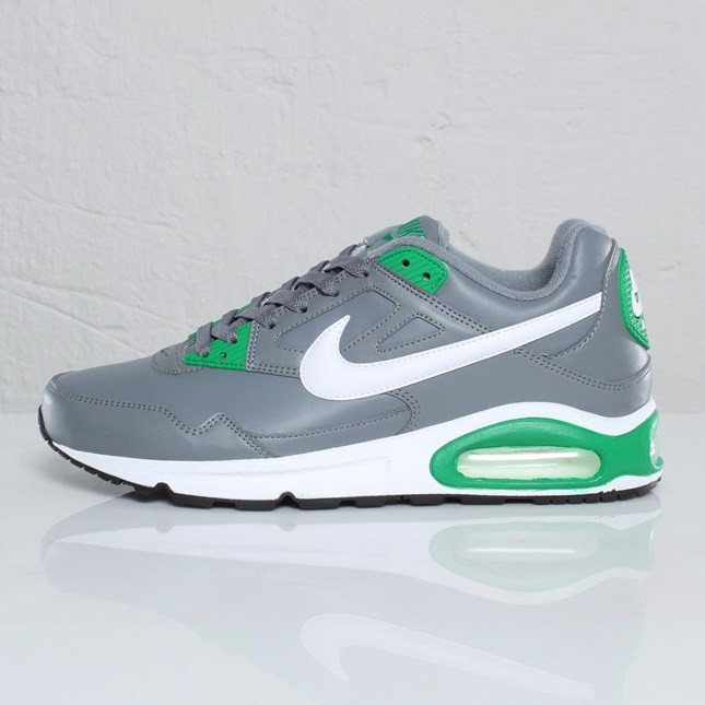 Nike Air Max Skyline Eu 343902-014 Cool Grey White Lucky Green Trainers