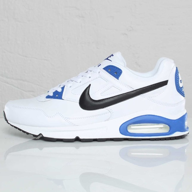Nike Air Max Skyline Eu 343902-105 White Black Varsity Royal Blue Trainers