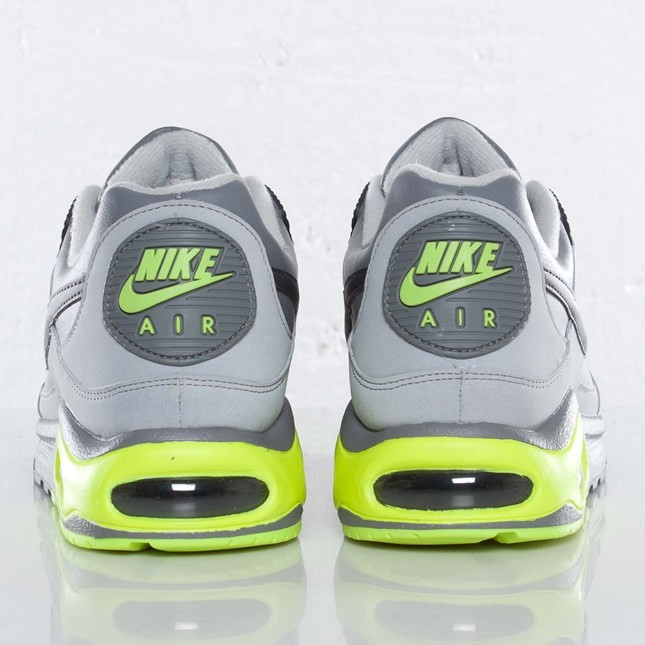 Nike Air Max Skyline Eu 343902-019 Cool Grey Anthracite Wolf Grey Volt Trainers