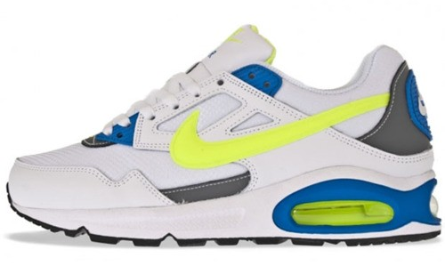 Nike Air Max Skyline 343886-132 White Volt White Cool Grey Trainers