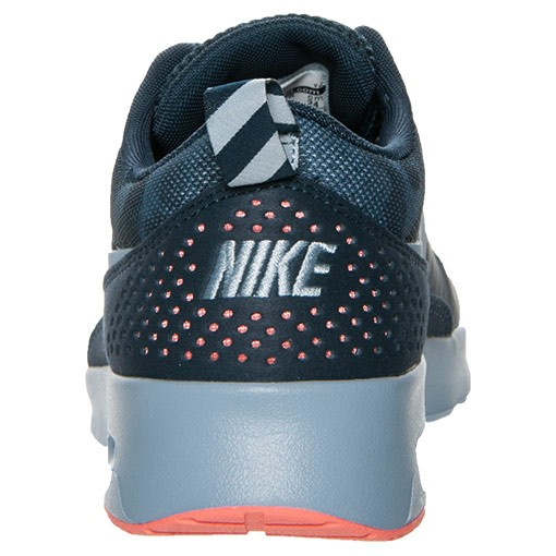 Womens Nike Air Max Thea Print Running Shoes Armory Navy/Light Armory Blue - Style 599408 400