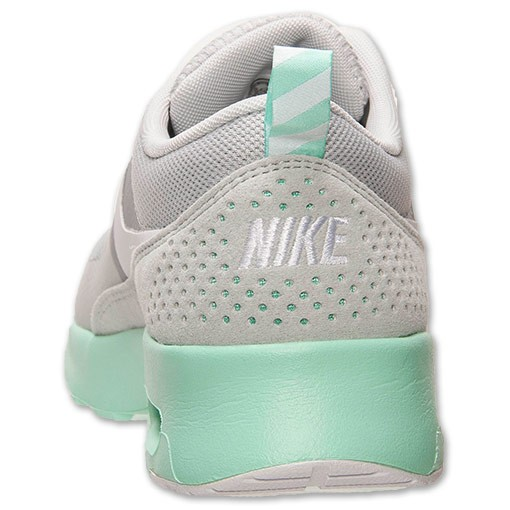 Womens Nike Air Max Thea Running Shoes Dusty Grey White Green Glow Style