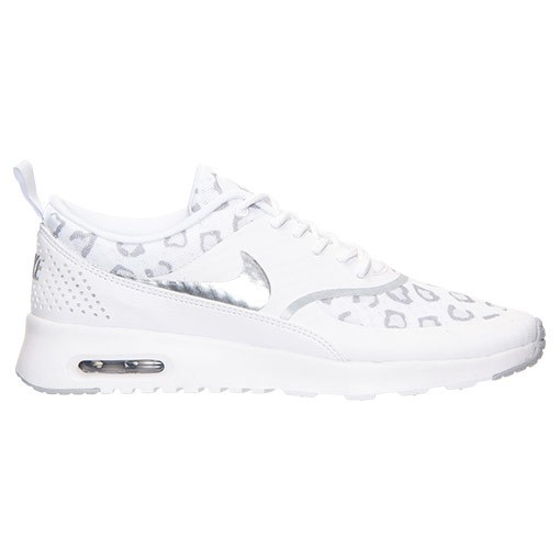 Womens Nike Air Max Thea Print Running Shoes White/Wolf Grey/Pure Platinum - Style 599408 101