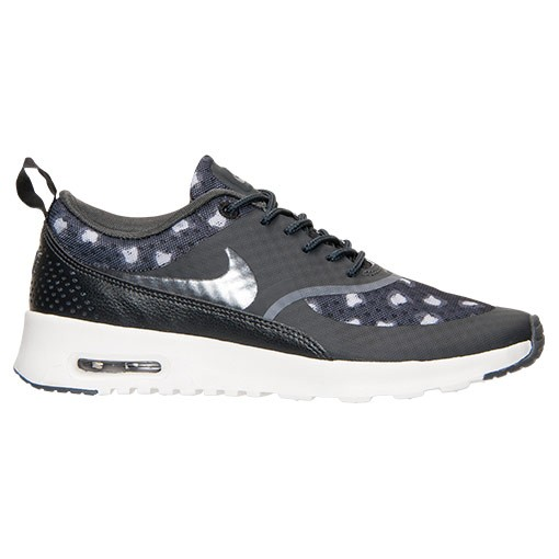 Womens Nike Air Max Thea Print Running Shoes Black/Dark Grey/Anthracite - Style 599408 008