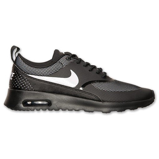 Womens Nike Air Max Thea Running Shoes Black/White - Style 599409 017