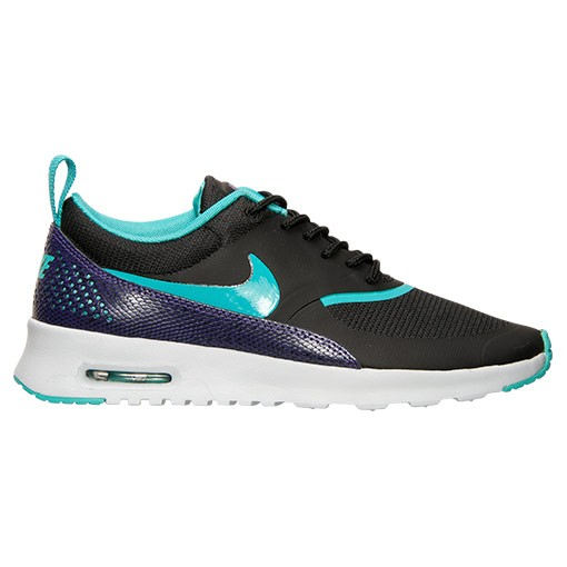 Womens Nike Air Max Thea Premium Snake Blake Running Shoes Black/Dusty Cactus/Pure Platinum - Style 616723 035