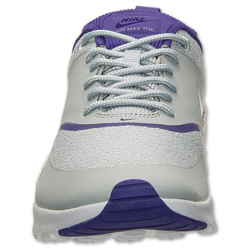 Womens Nike Air Max Thea Running Shoes Silver Wing/Cout Purple/Pure Platinum - Style 599409 016