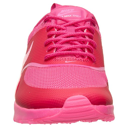 Womens Nike Air Max Thea Print Running Shoes Pink Pow/Fireberry - Style 599409 604