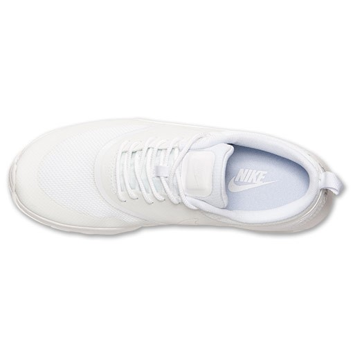 Womens Nike Air Max Thea All White Running Shoes White/White - Style 599409 101