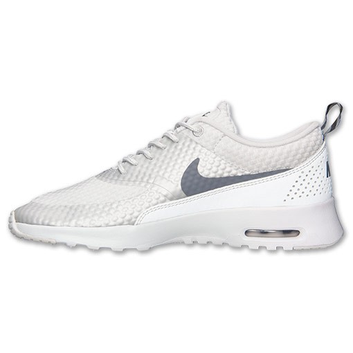... Womens Nike Air Max Thea Premium Running Shoes Light Base Grey/Cool  Grey/Metallic ...