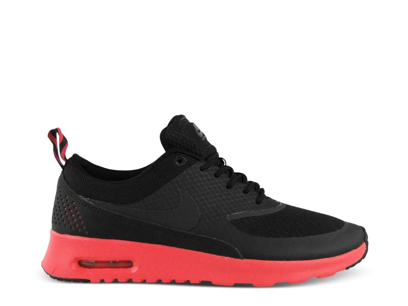Womens Nike Air Max Thea (Black/Red) Running Shoes Black/Anthracite/Fusion Red - Style 599409 002