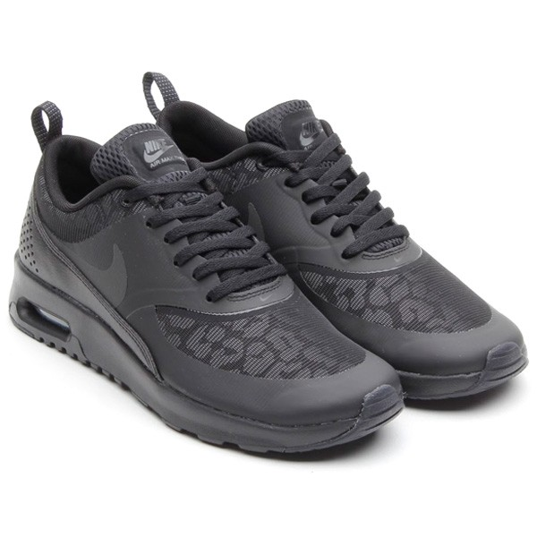 buy 68 womens nike air max thea print running shoes black. Black Bedroom Furniture Sets. Home Design Ideas